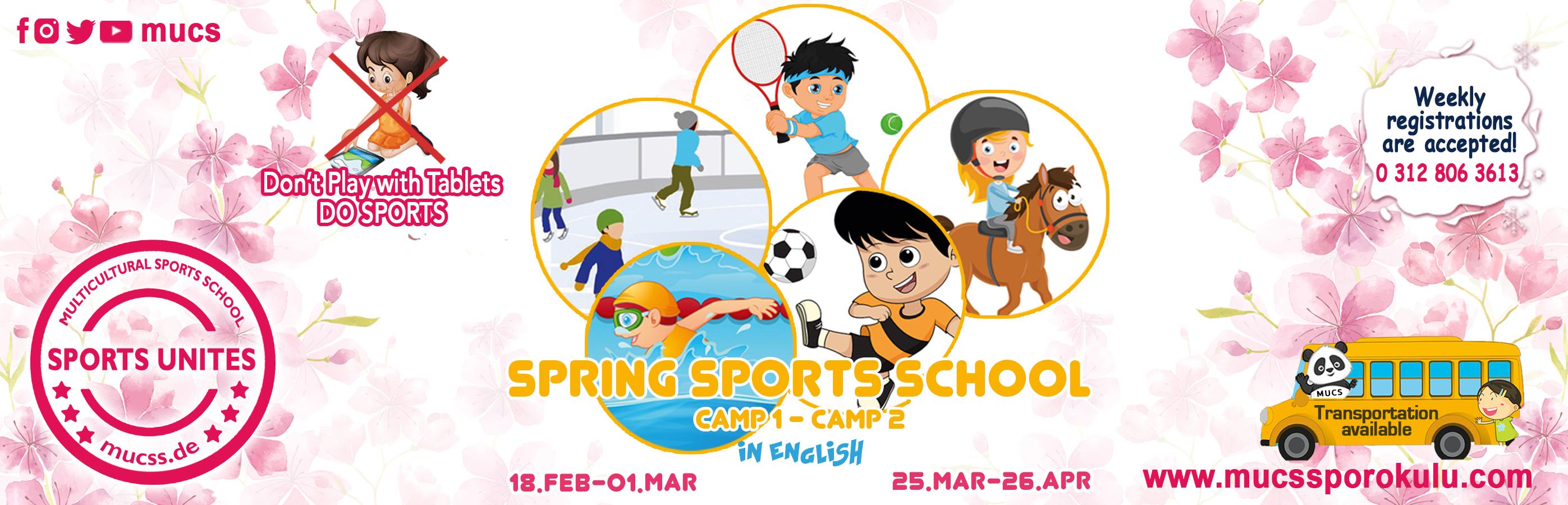 2019 Bahar Spor Okulu Kamp2